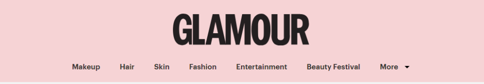 Glamour is an online Lifestyle media outlet