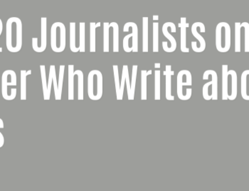Top 20 Journalists on Twitter Who Write about SMEs