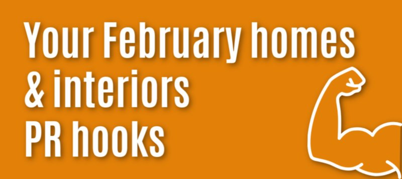 hooks for interiors PR in February