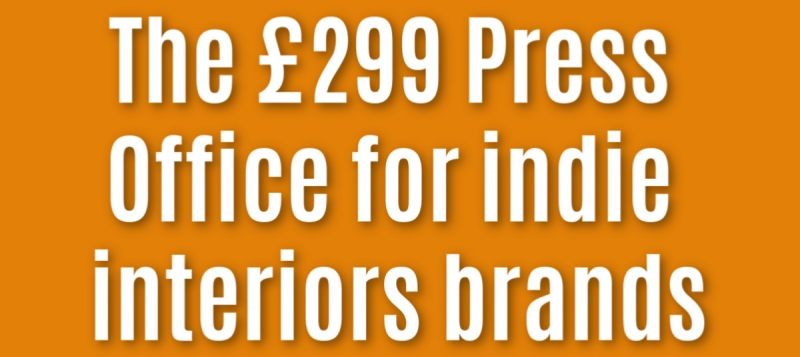 an offer of cut price PR services