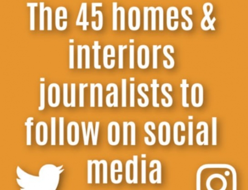 The 45 most influential homes & interiors journalists on Social Media