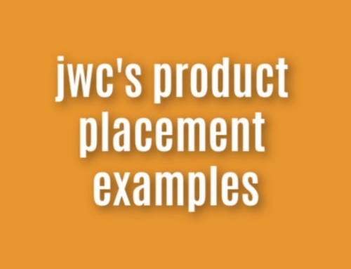 jwc's product placement examples