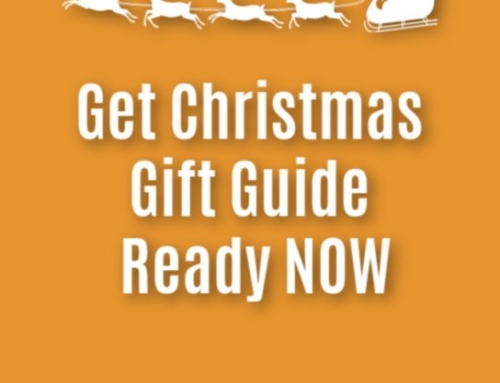 Get Christmas gift guide ready NOW